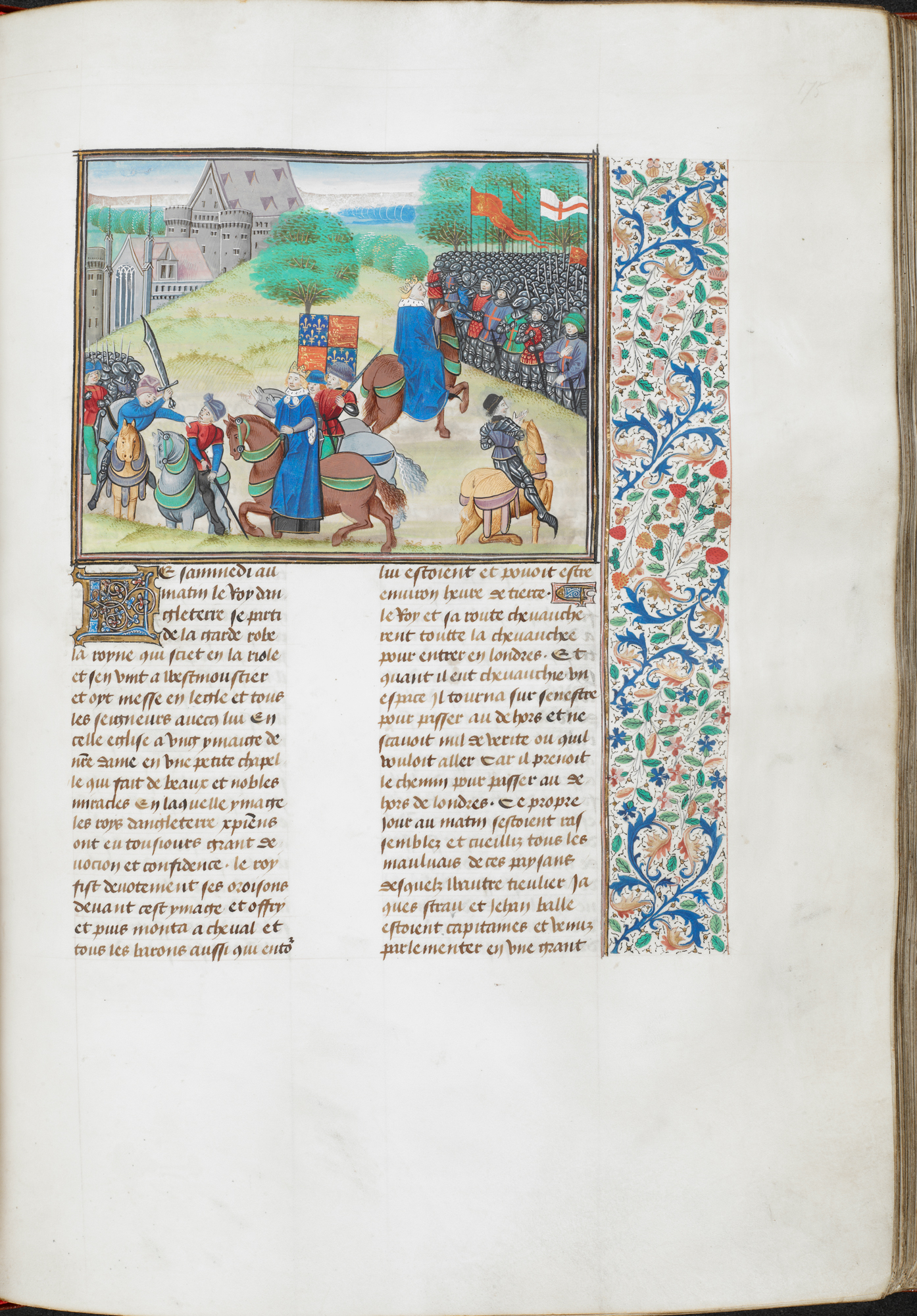 Royal MS 18 E I, f. 175r