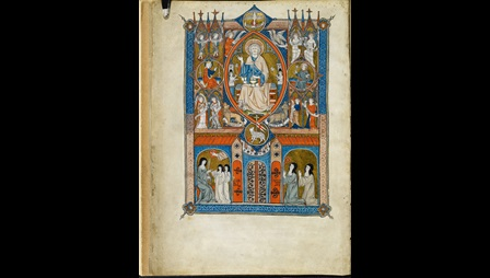 Yates Thompson MS 11, f. 1v