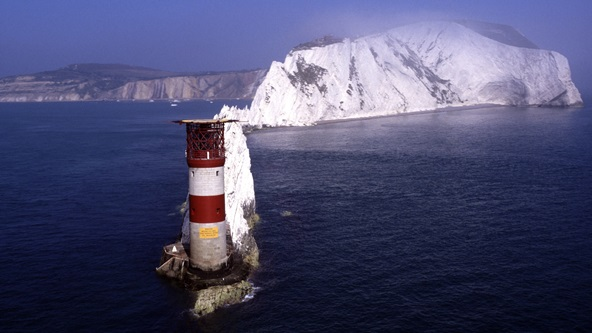 Photograph of the Needles Lighthouse