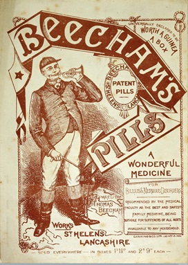 Advertisement for Beecham's Pills