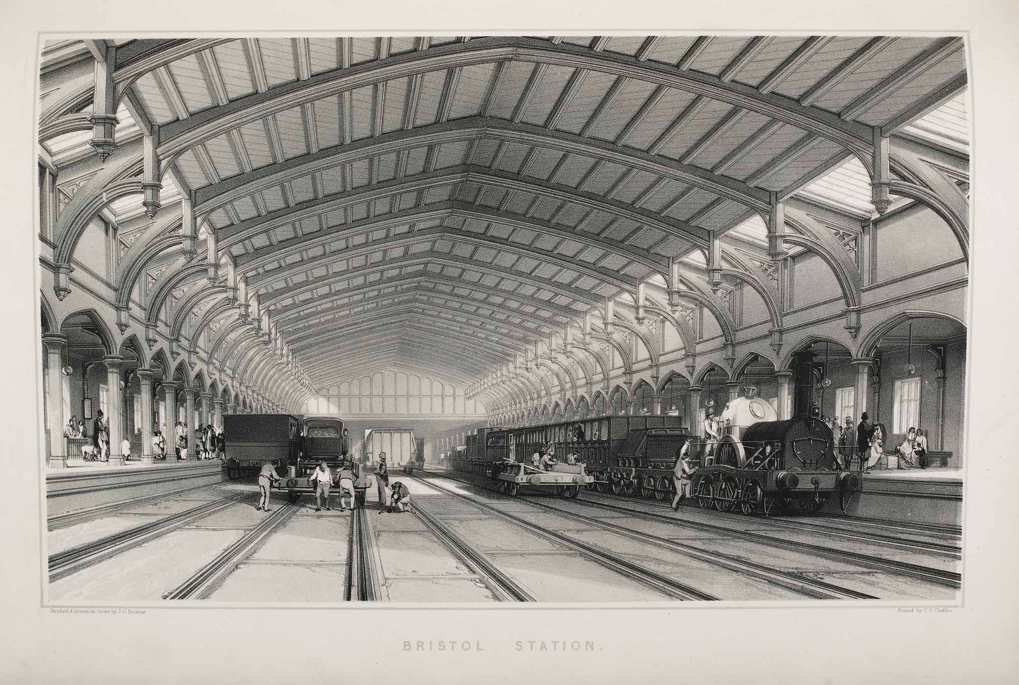 The History and Description of the Great Western Railway