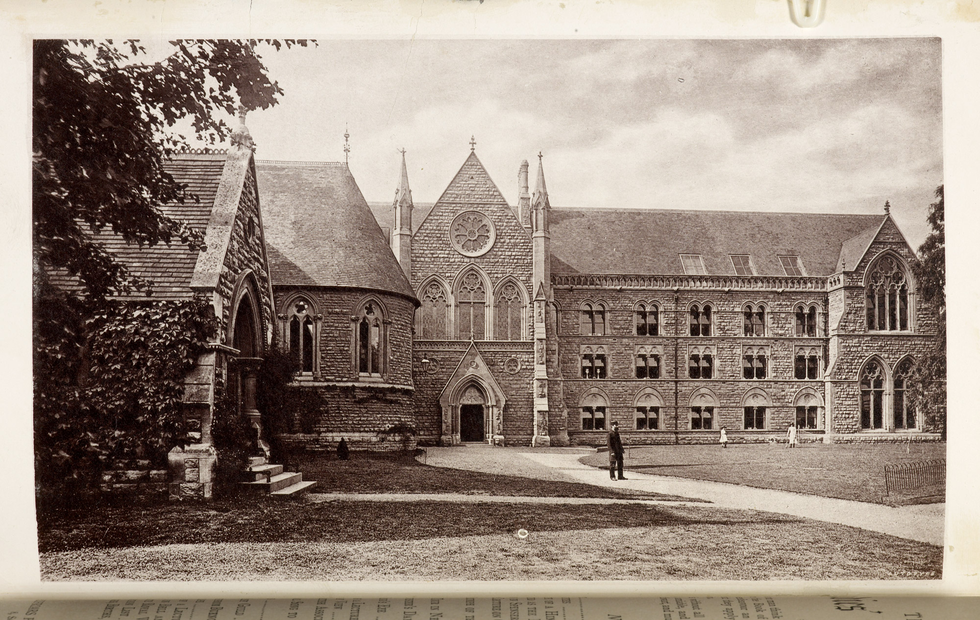 Photograph of Cheltenham Ladies' College from The Cheltenham Ladies College Magazine