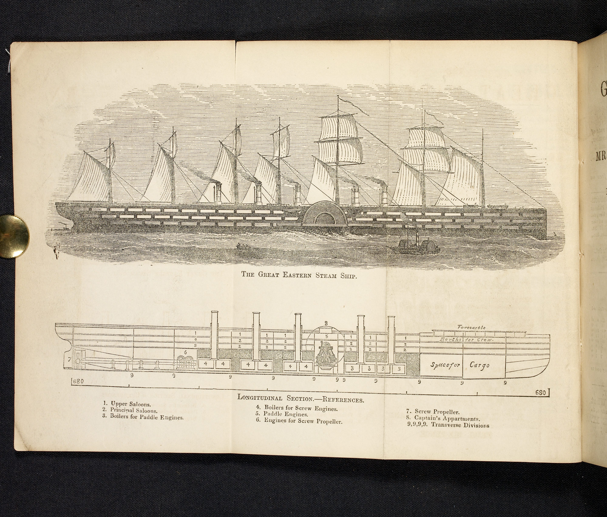 The Great Eastern Steam Ship