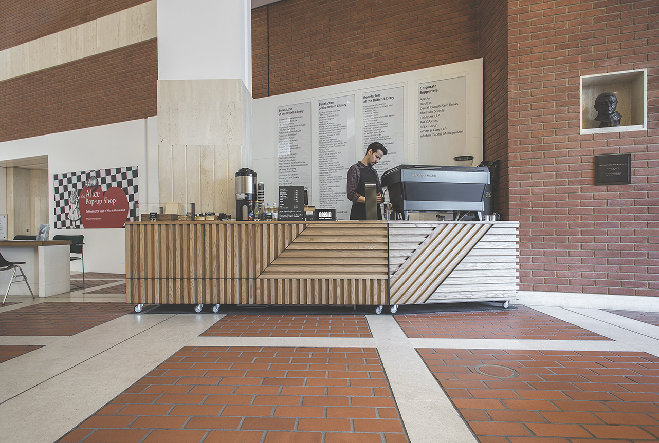Origin Coffee located in the Entrance Hall