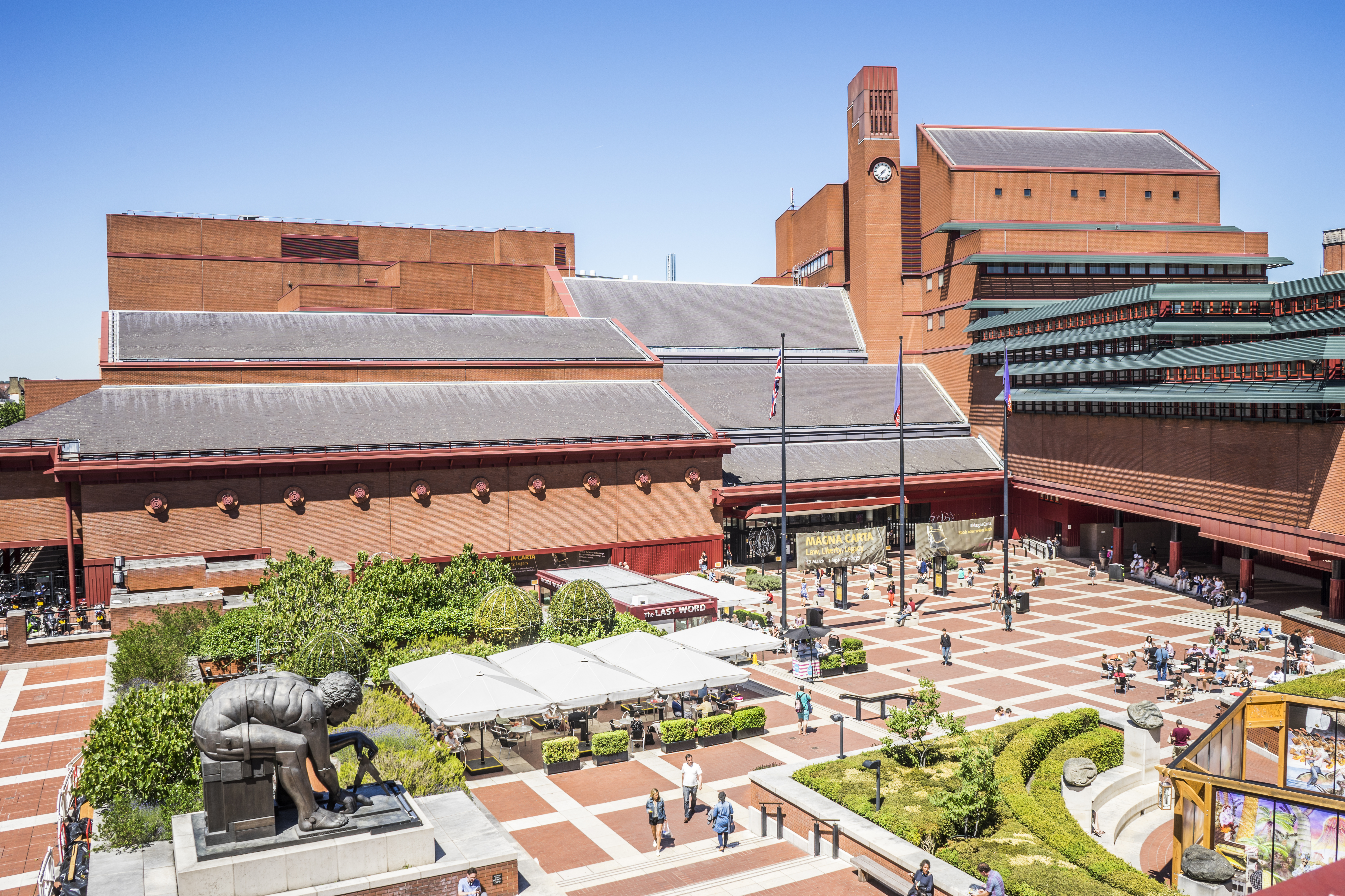 The British Library building