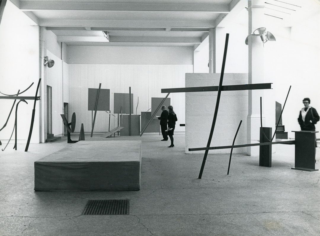 Anthony Caro's Whitechapel Gallery exhibition, curated by Bryan Robertson, 1963.