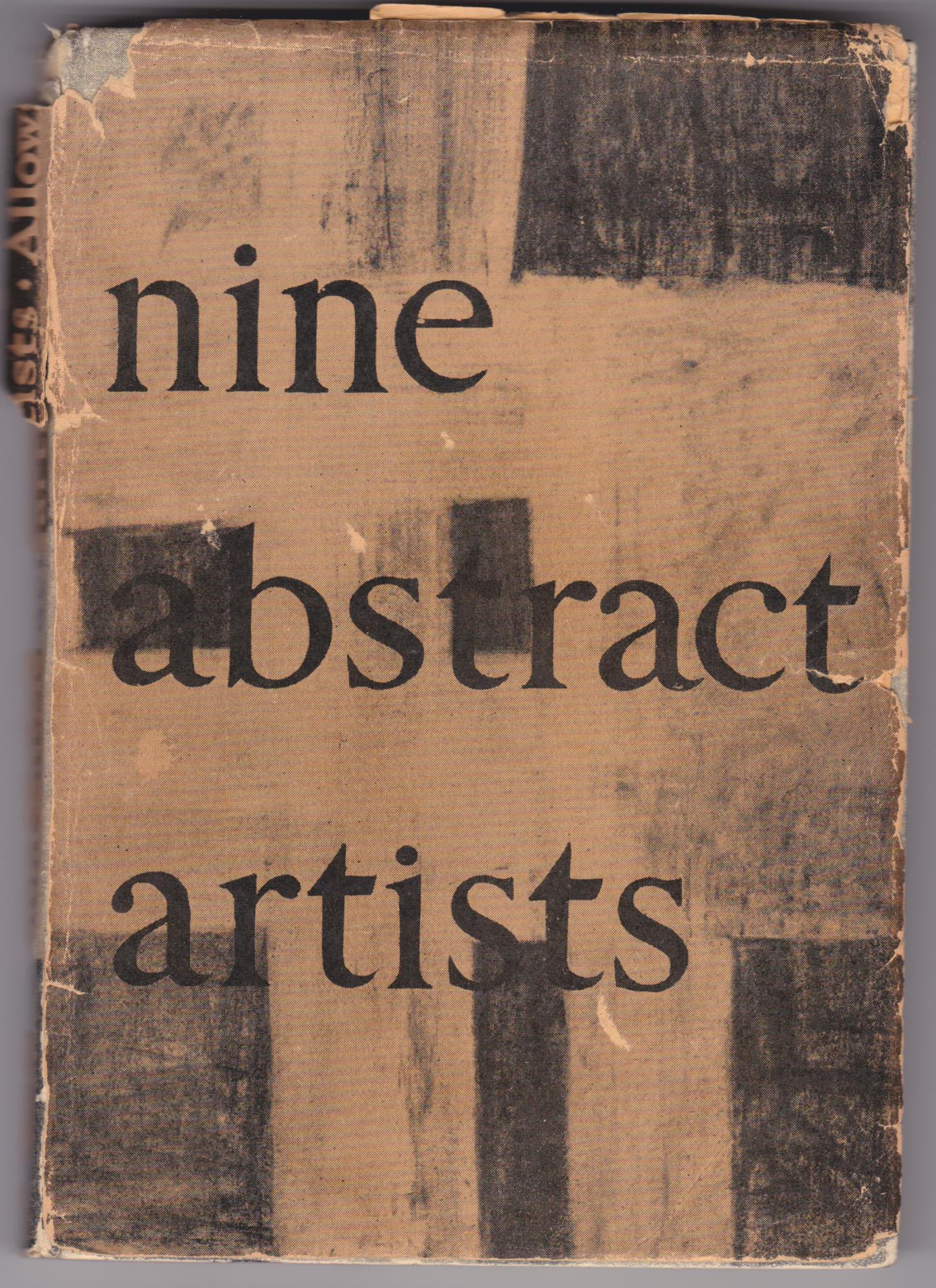 <i>Nine Abstract Artists</i> by Lawrence Alloway (1954).