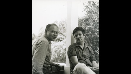 Jules Olitski and Ken Noland.