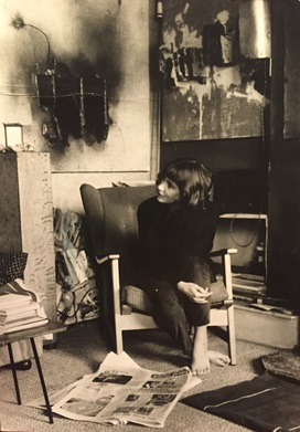 Barbara Steveni in her home, c.1960s. Courtesy Barbara Steveni. Image not licensed for reuse.