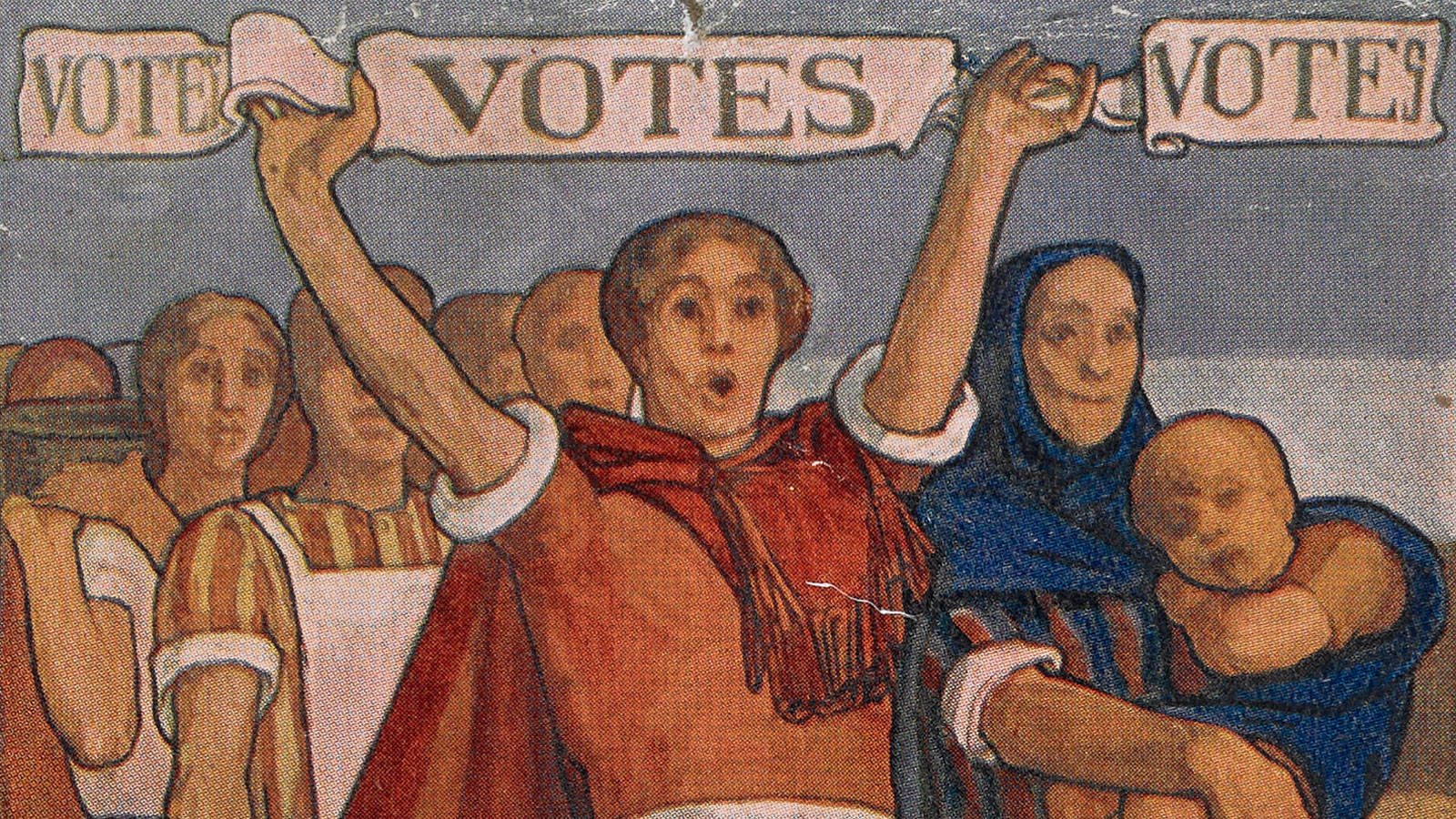 The campaign for women's suffrage: an introduction