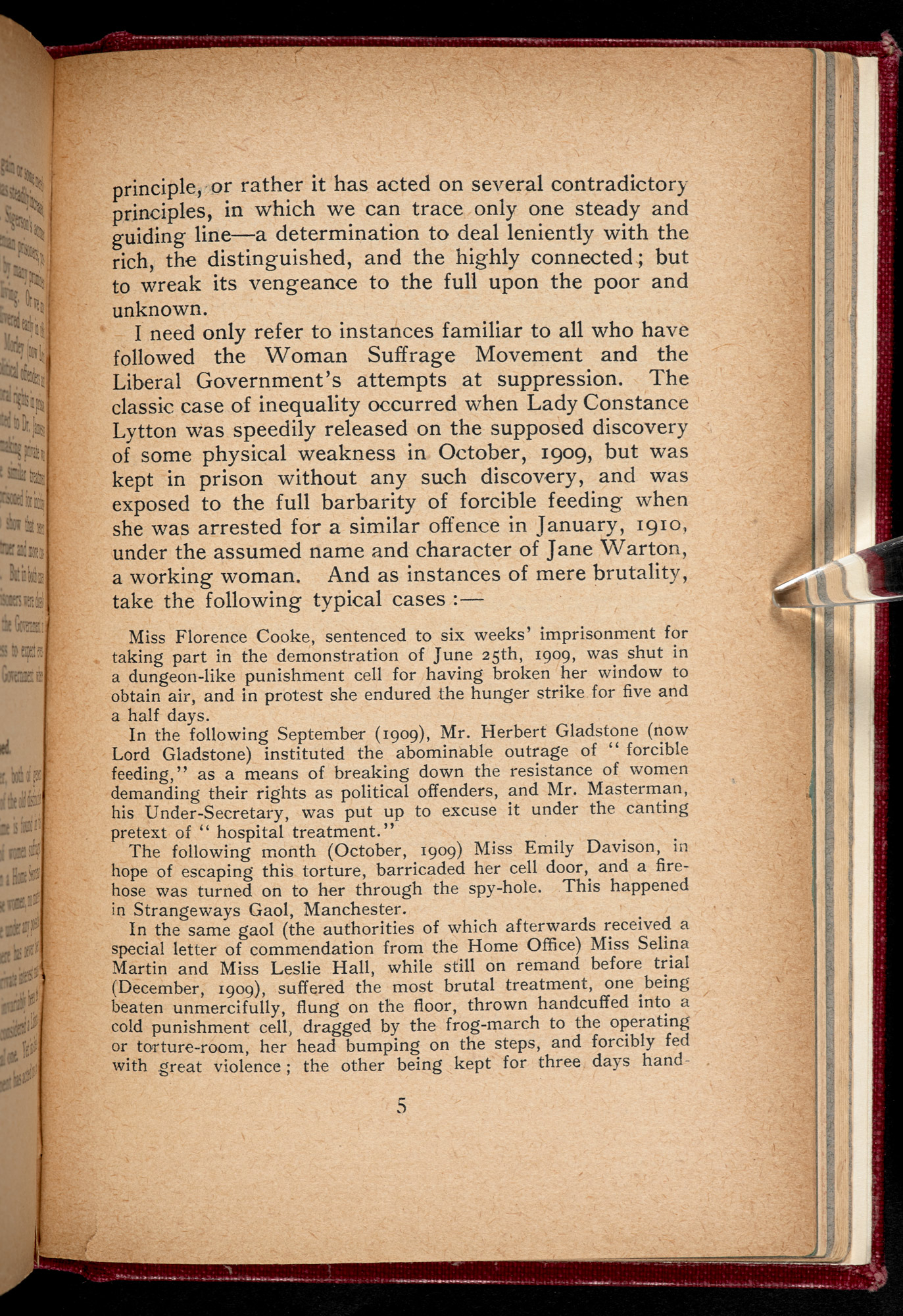 Custodia Honesta pamphlet page 5