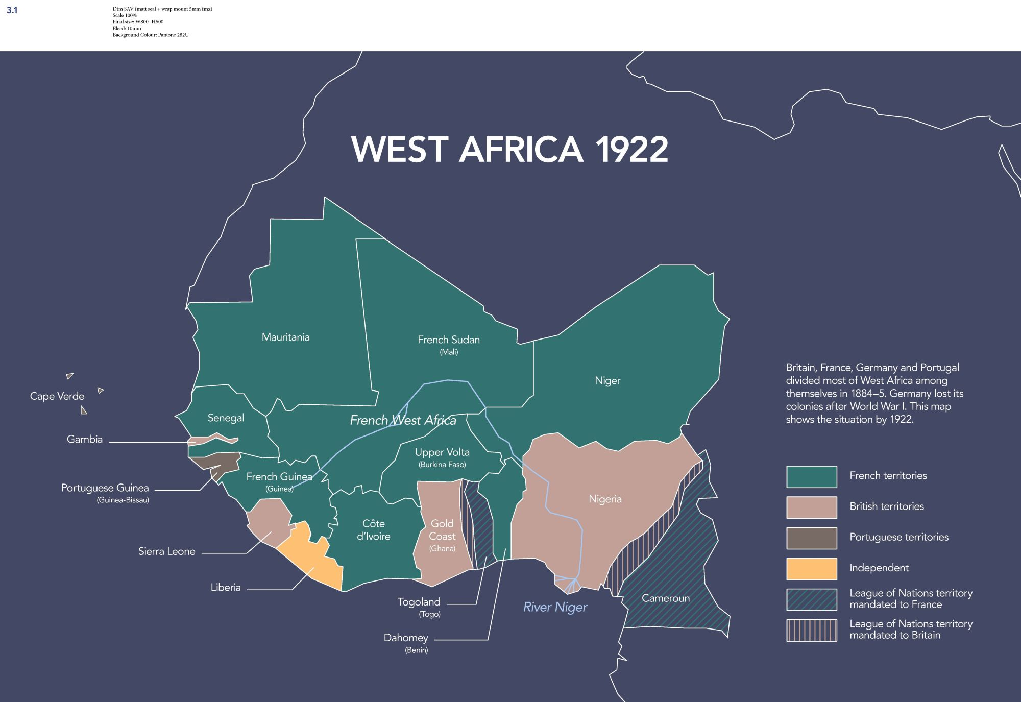 Map Of Africa During Colonization.Map Of West Africa In 1922 The British Library