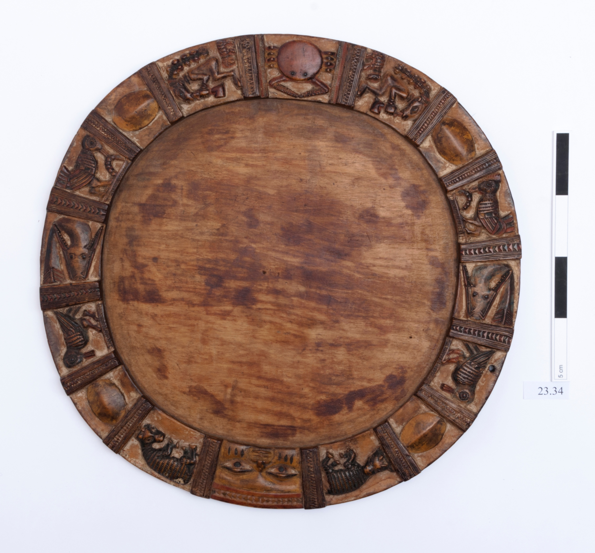 Ifá divination board. Ifá divination is a Yoruba religious practice with its centre in south-western Nigeria.