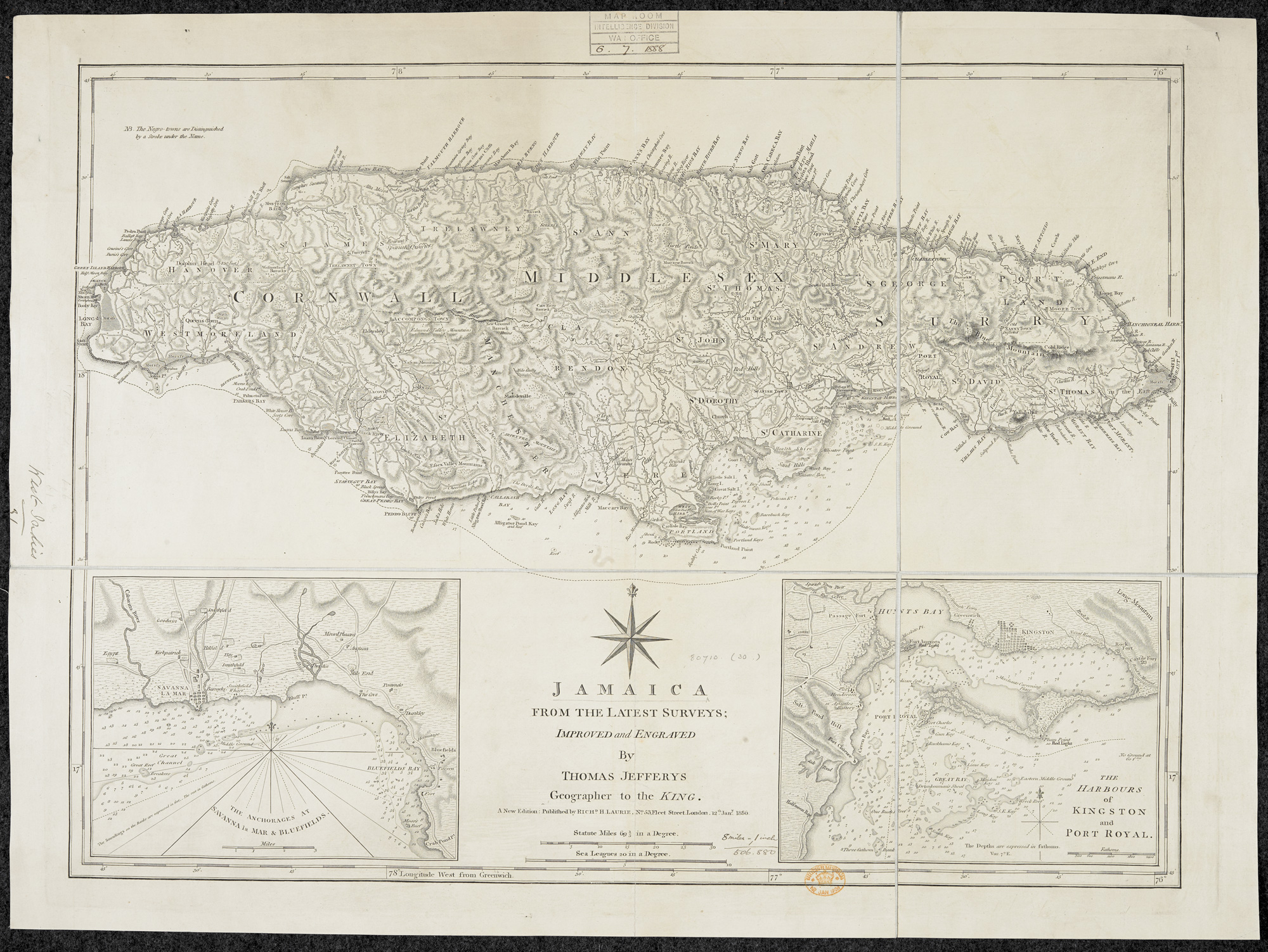 Jamaica from the latest surveys - The British Library
