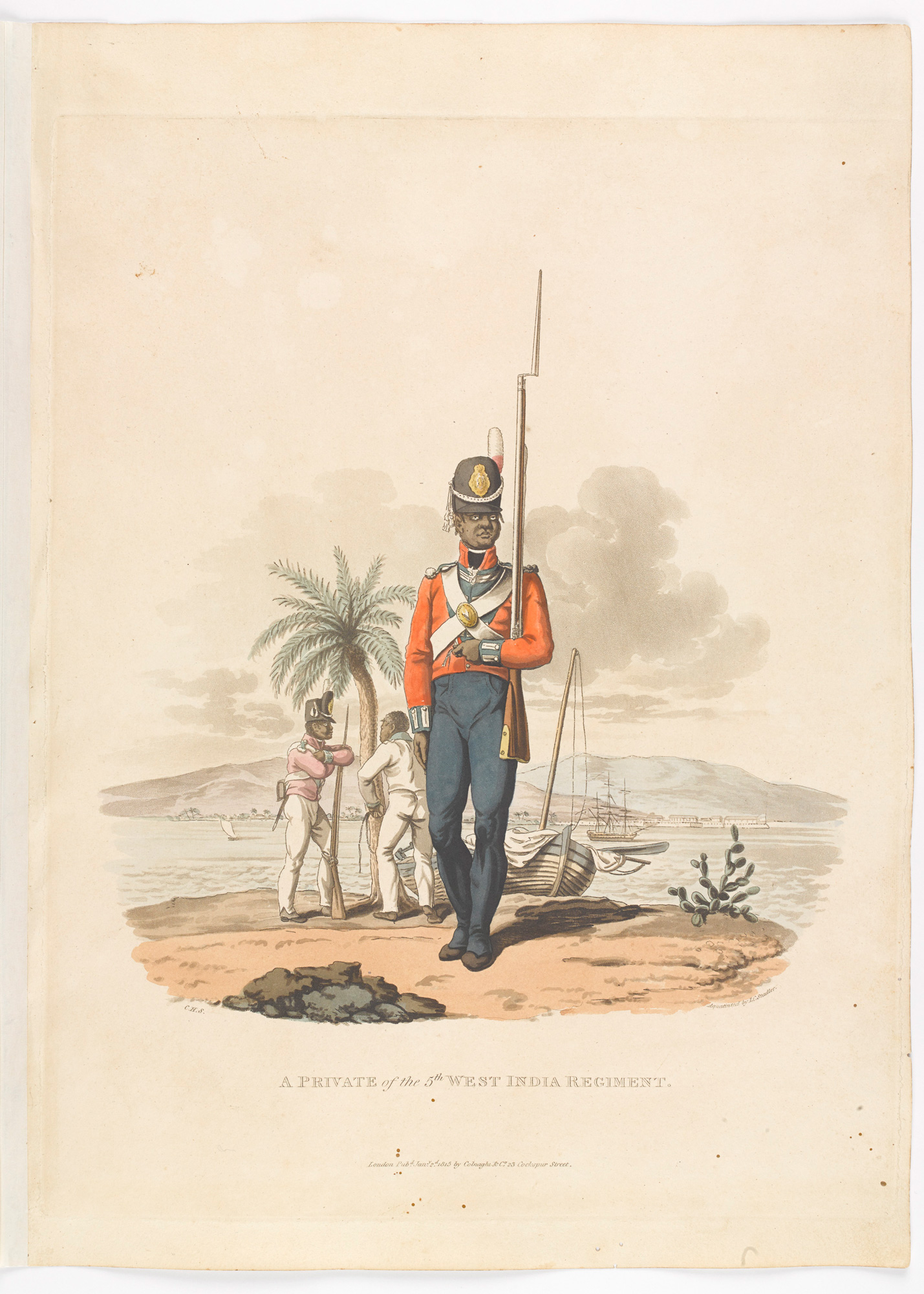Costumes of the Army of the British Empire, According to the Last Regulations 1812