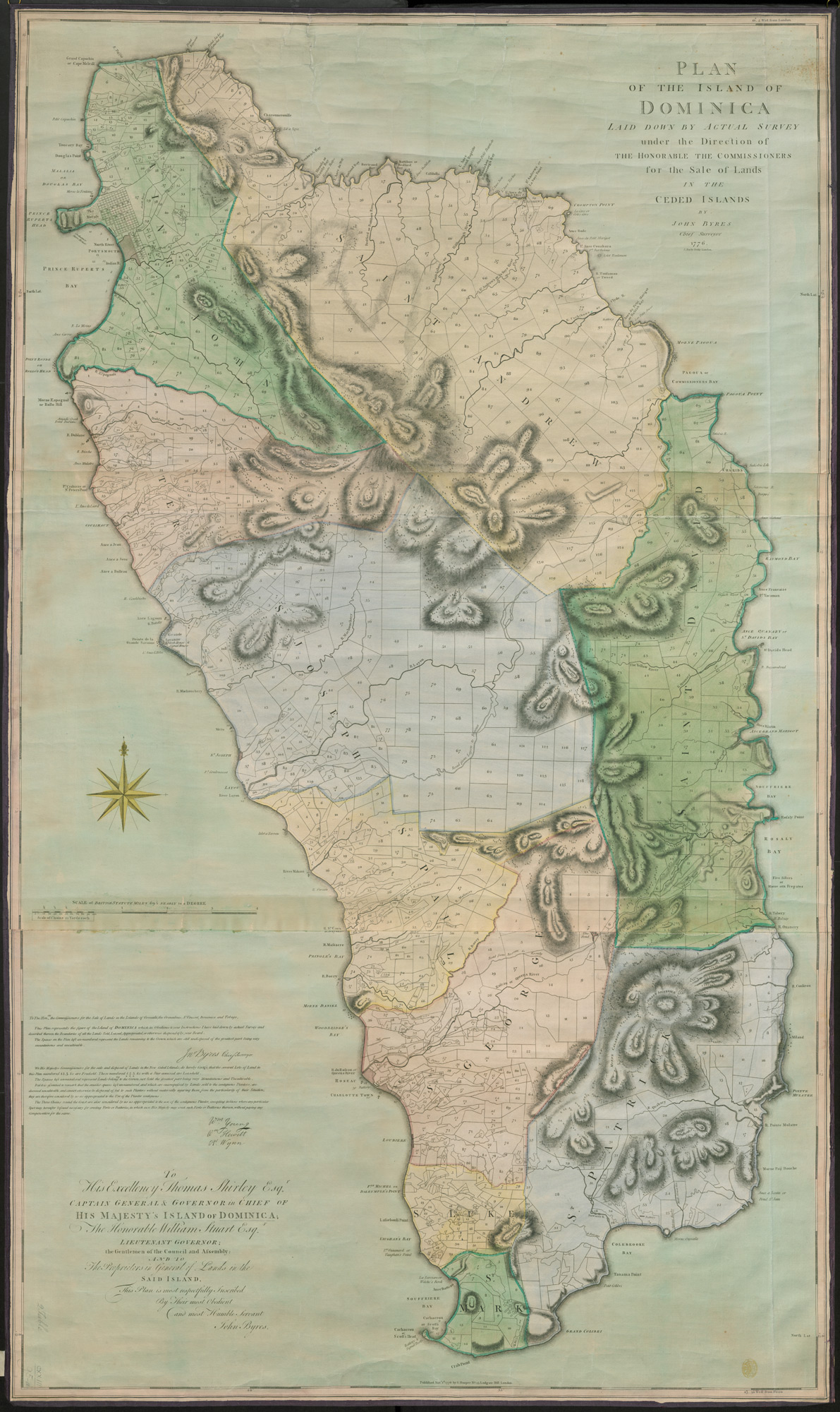 Plan of the island of Dominica, 1776 - The British Liry Map Direction Uk on mapquest directions, get directions, driving directions, scale directions, compass directions, travel directions, traffic directions, giving directions,