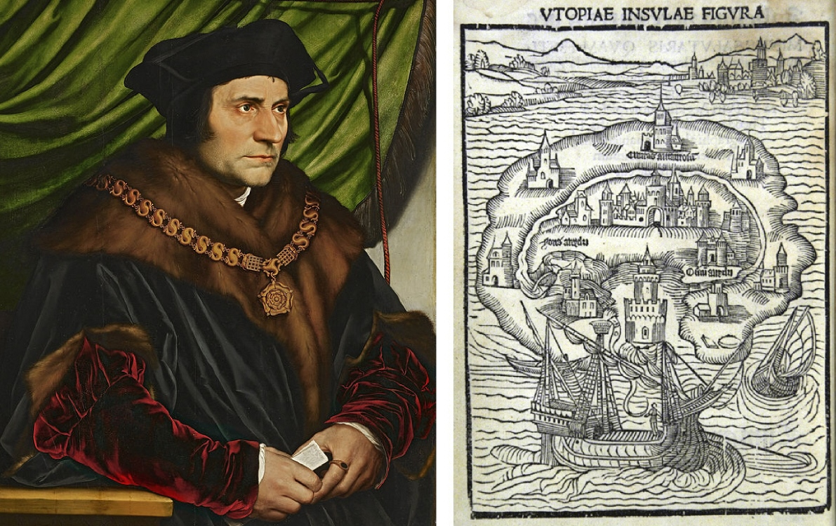 Thomas More And Utopia The British Library