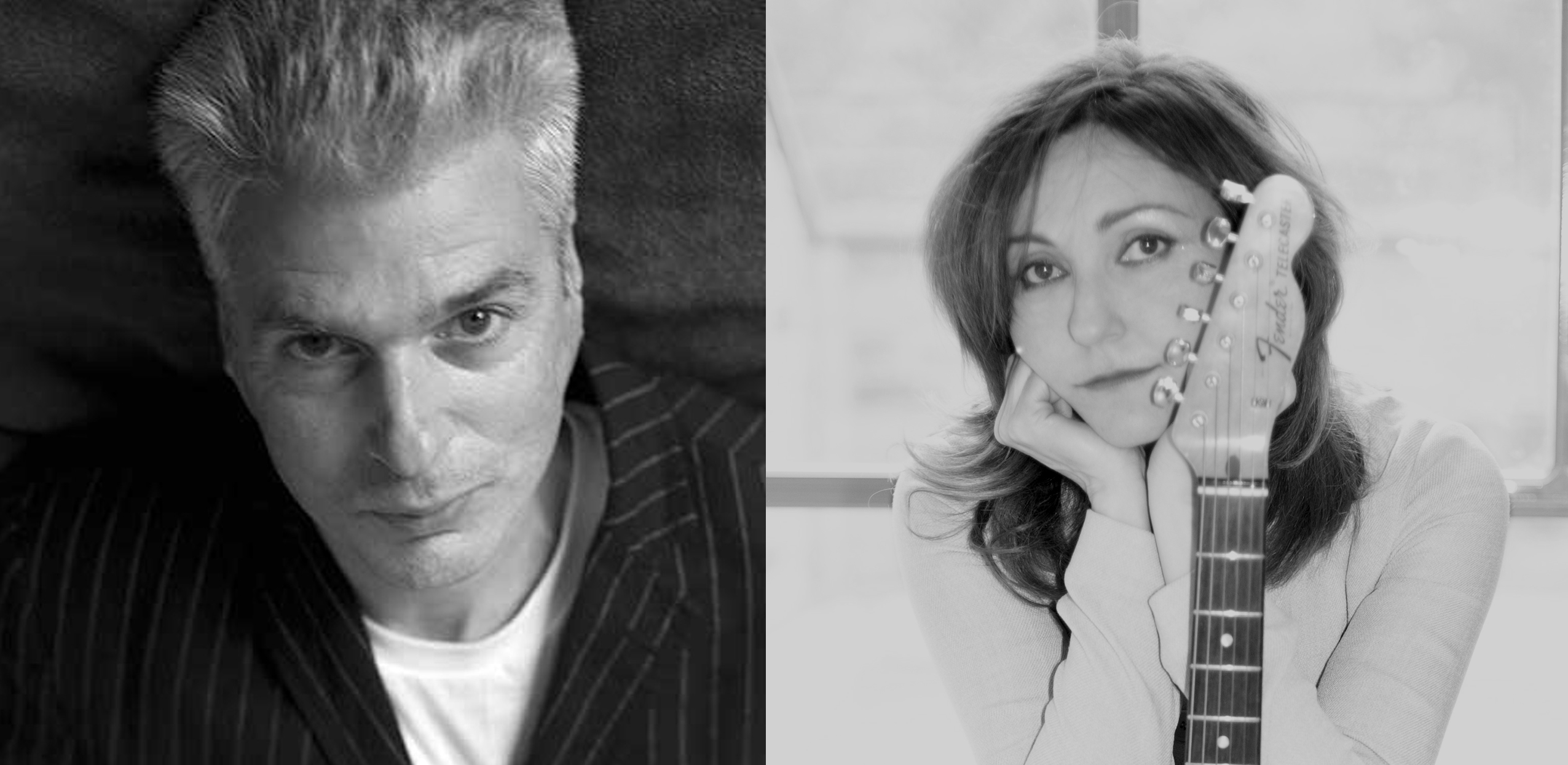 Jon Savage and Viv Albertine