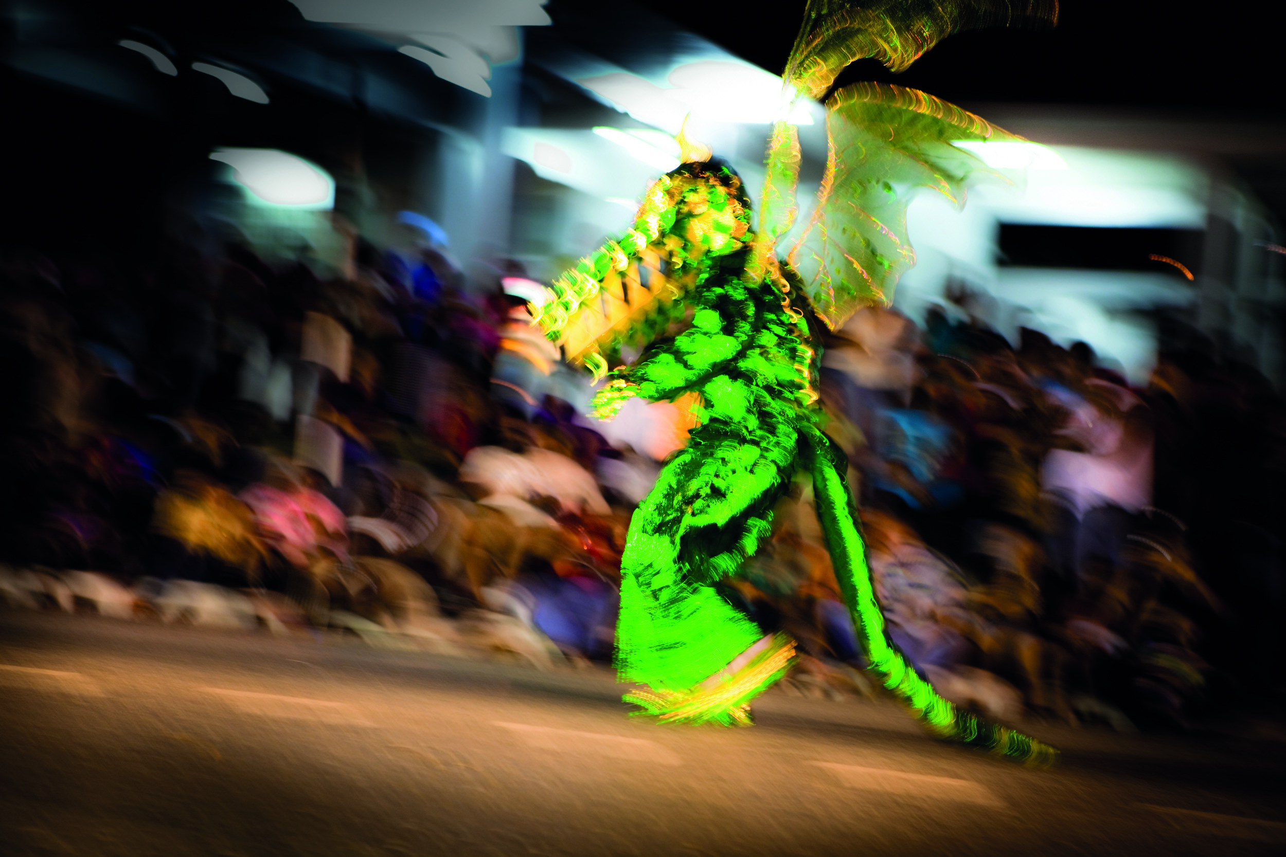 Dancing Green Dragon [credit: Maria Nunes Photography]