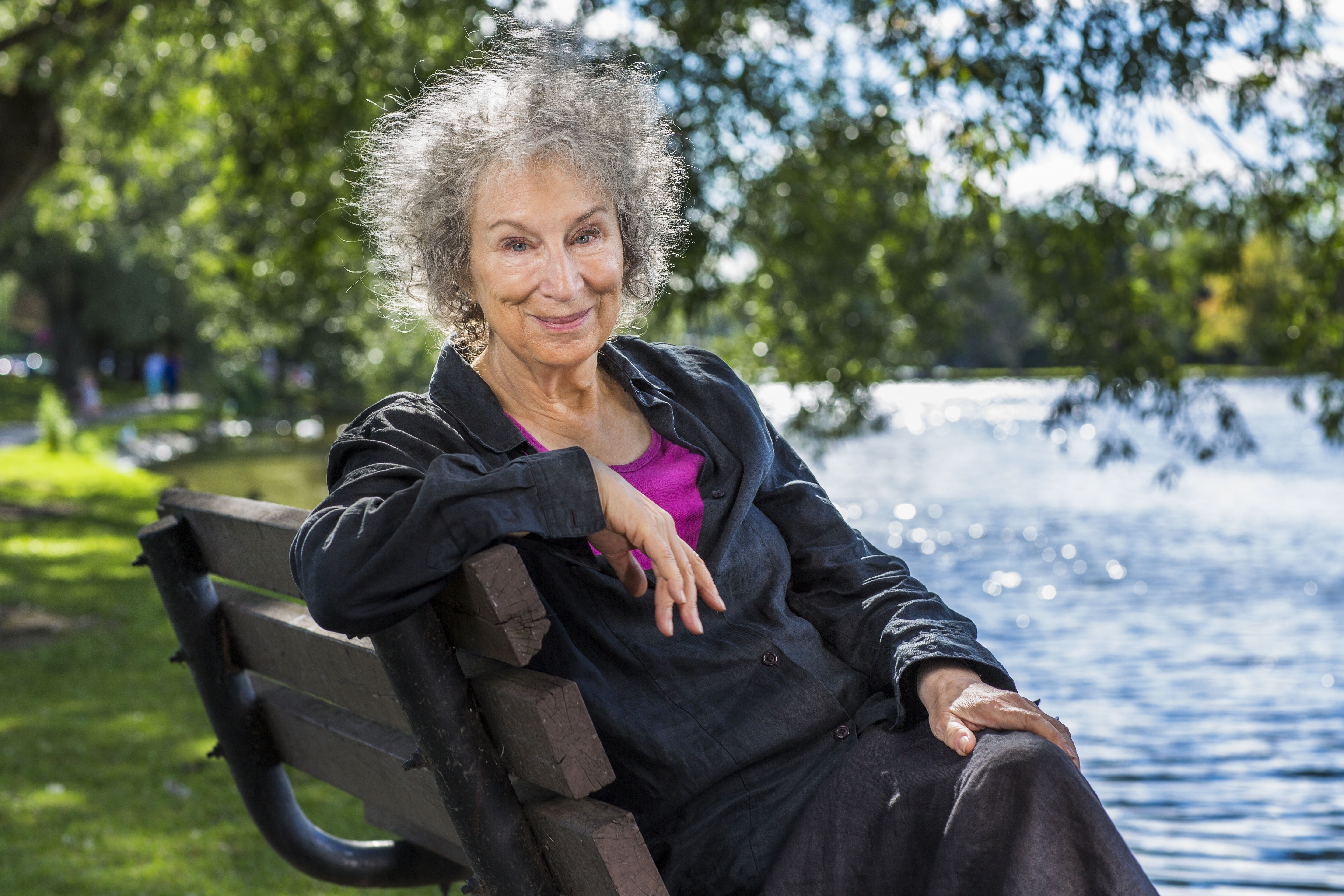 Author Margaret Atwood photo by Liam Sharp