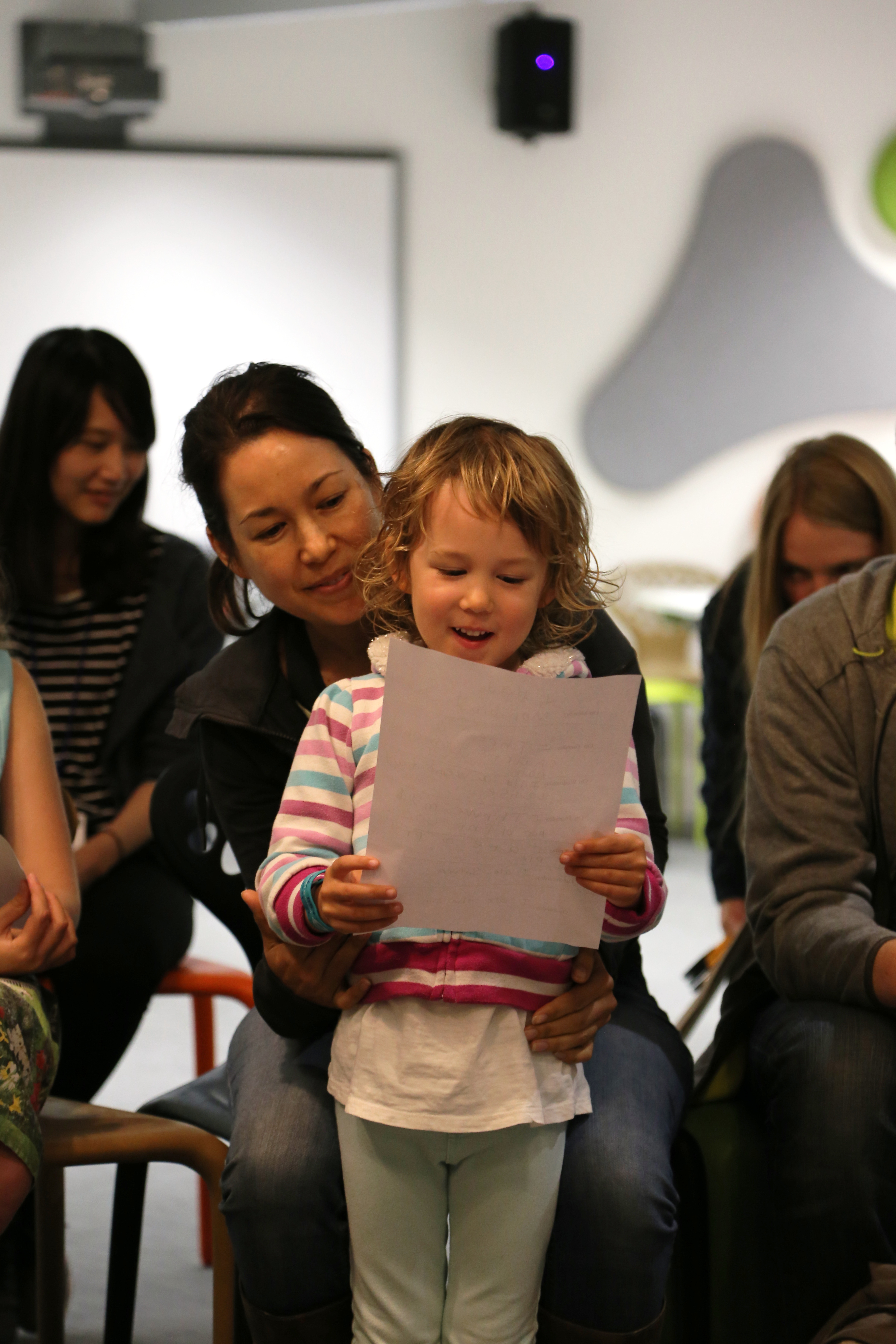 Family Day - What's in a book?