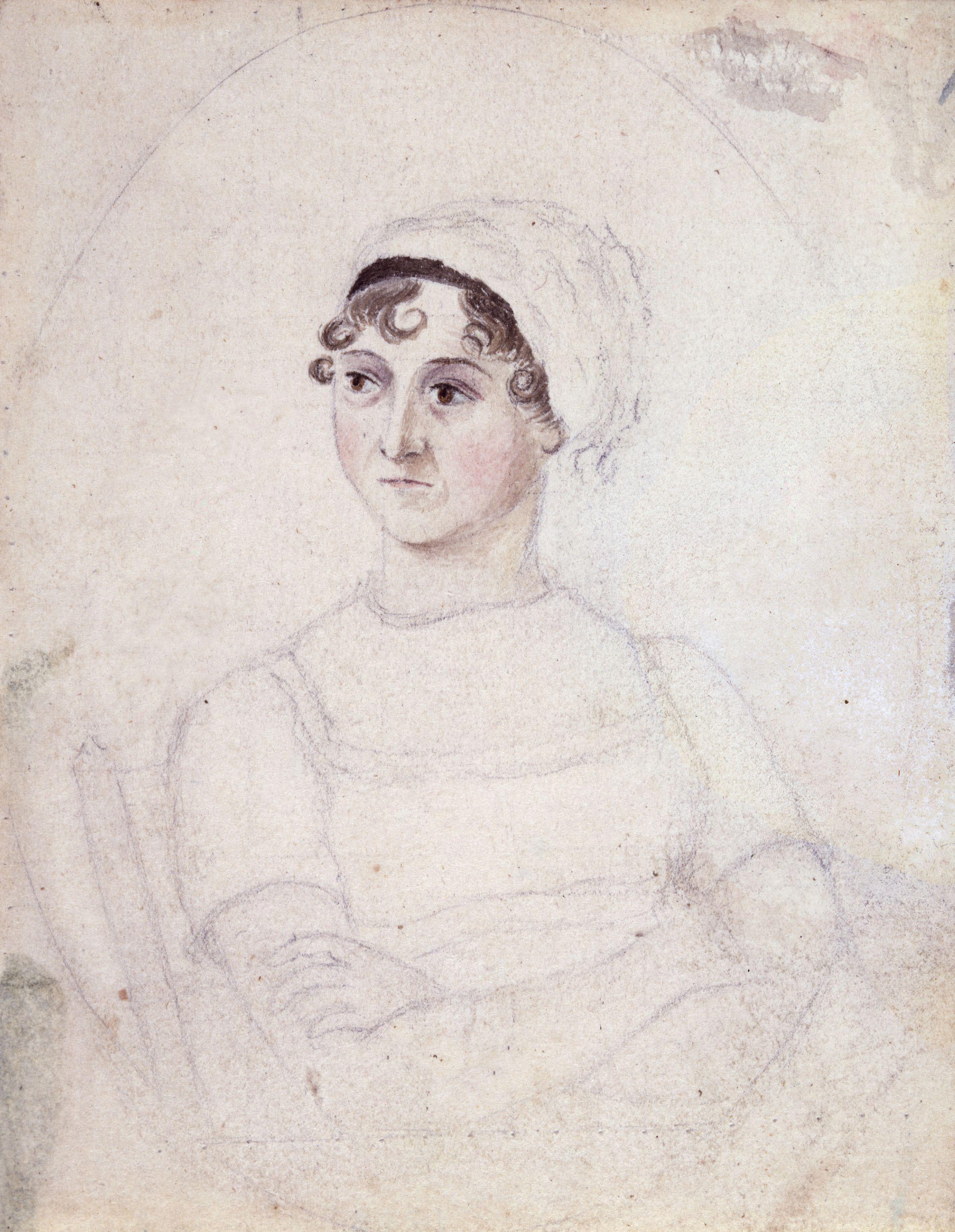 Jane Austen by Cassandra Austen (c.1810)
