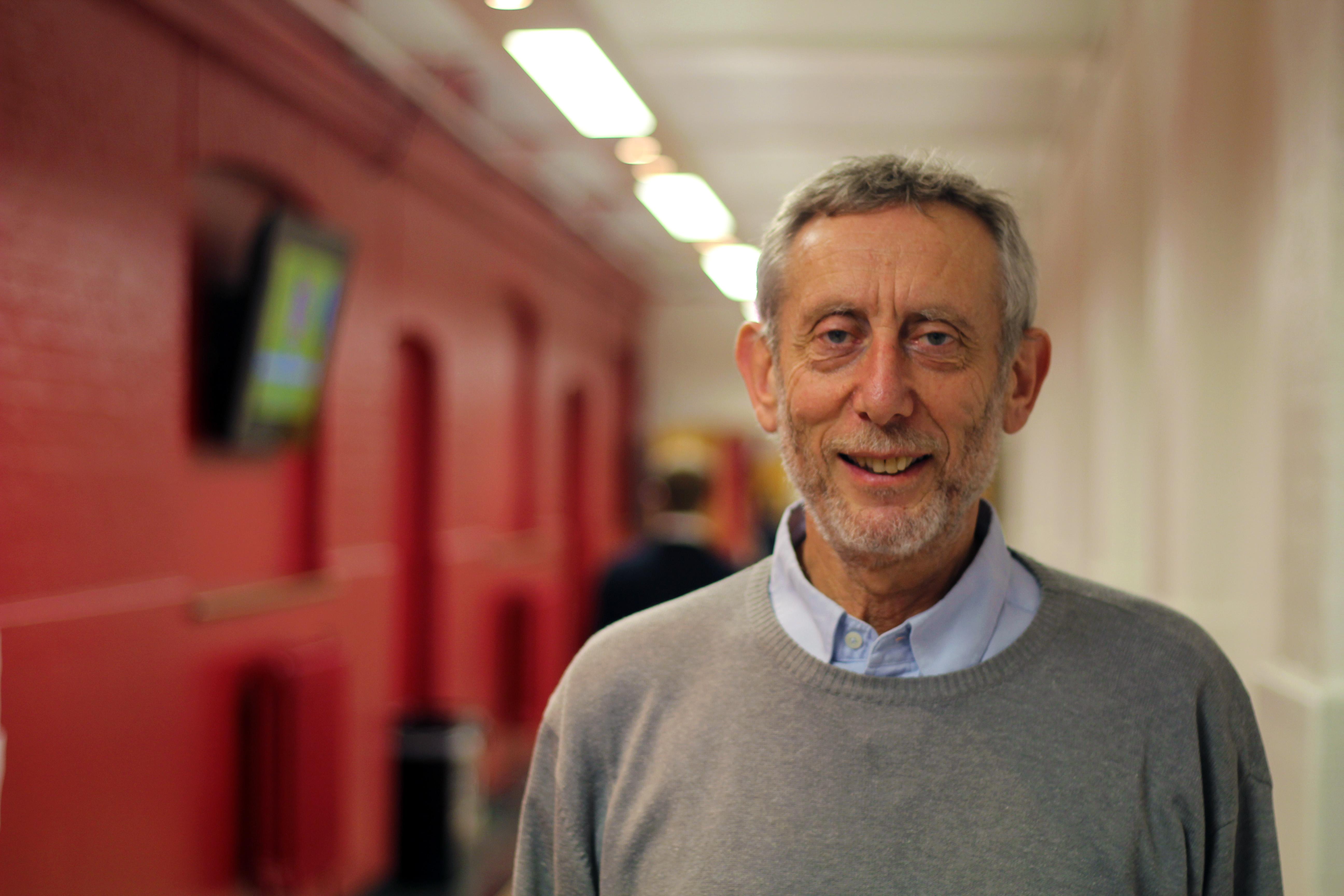 Michael Rosen  Credit Goldsmiths University of London