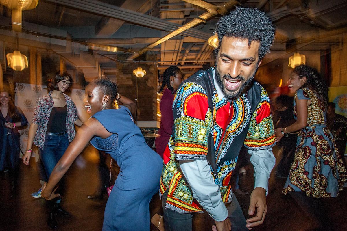 Africa Writes RAP Party - Photograph by Ivan Gonzalez