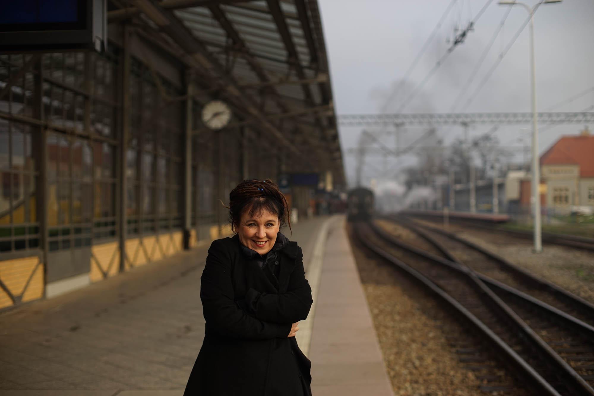 Olga Tokarczuk by Krzysztof Dubiel