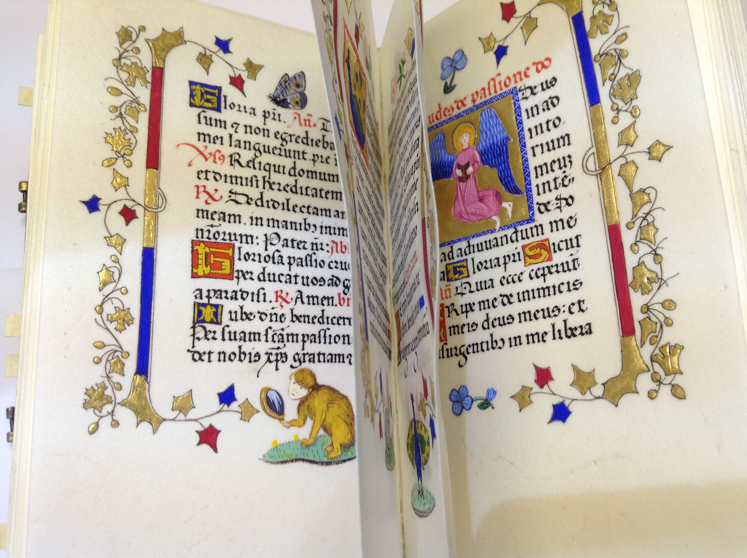 Calligraphy example in on of the Illuminated Manuscripts