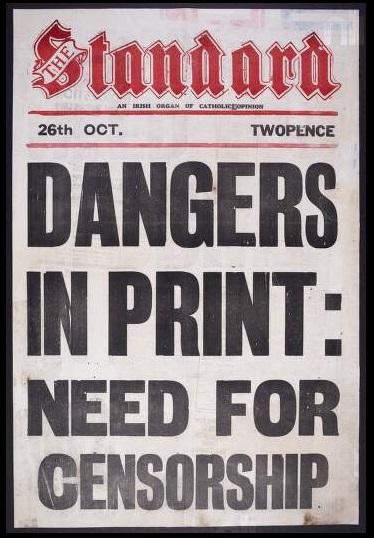 Censored: Image courtesy National Library of Ireland