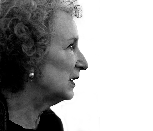 Margaret Atwood by Ander McIntyre