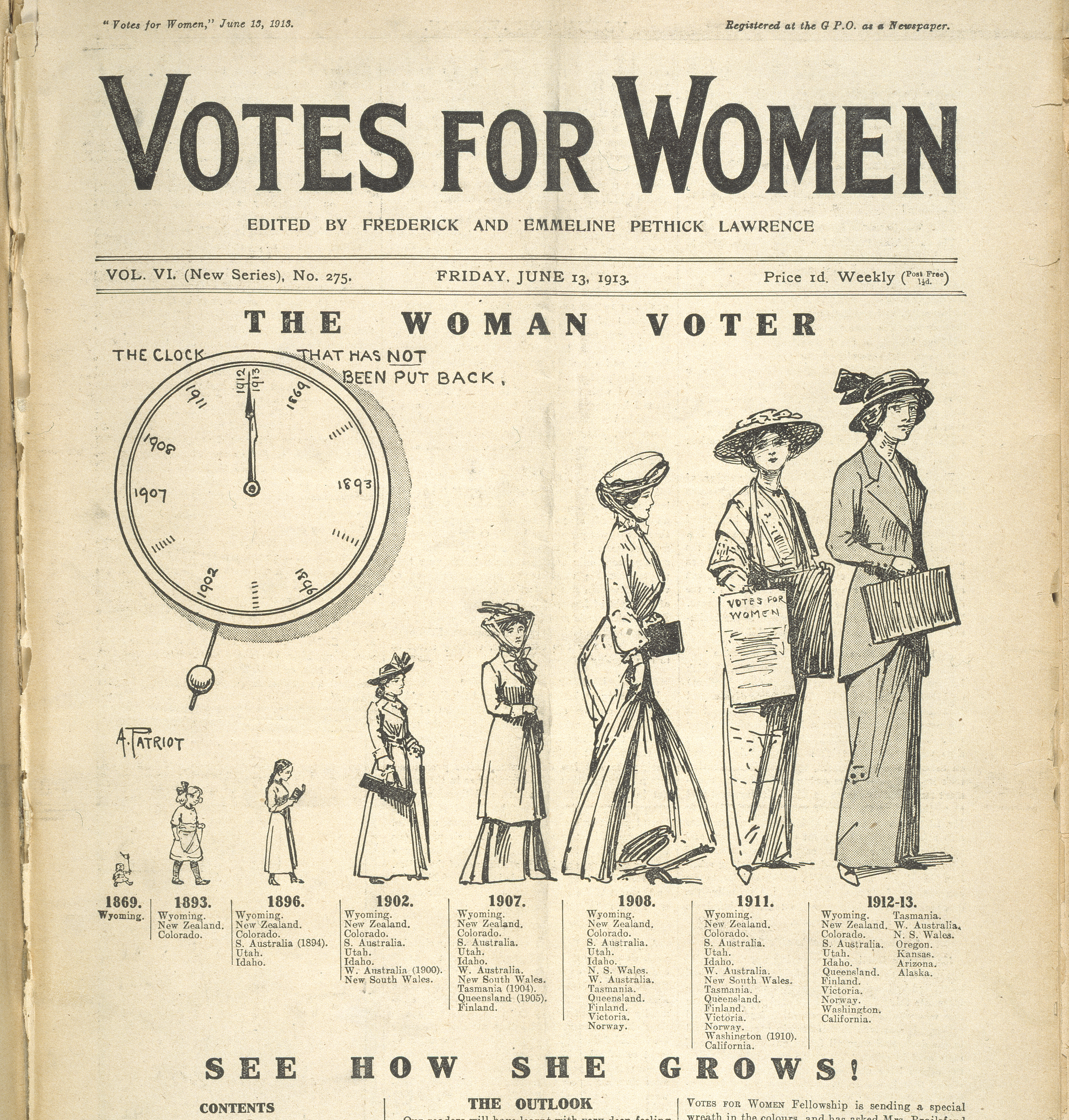 Suffragettes Votes for Women