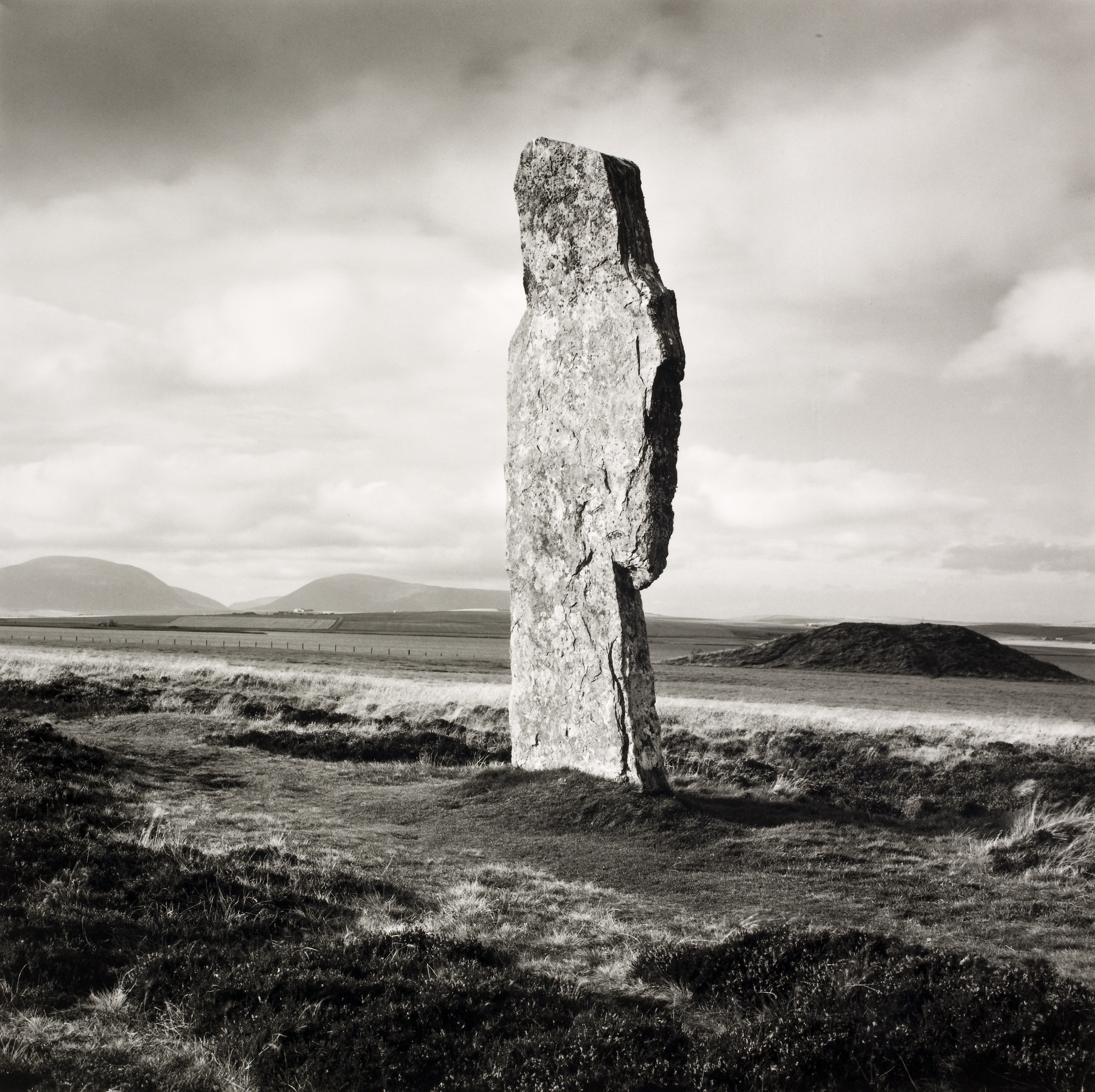 Single Stone, Ring of Broga 1979. From ACGB series. Photograph by Fay Godwin.