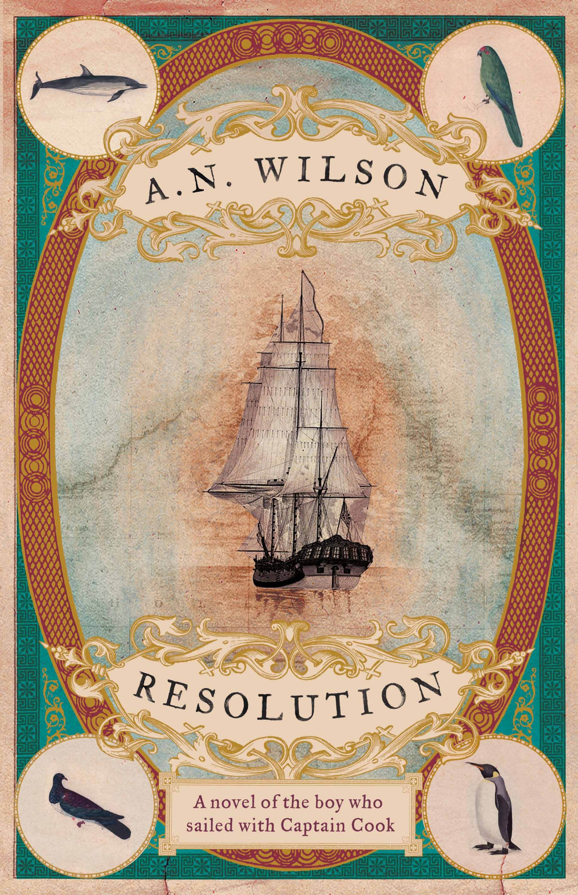 A. N. Wilson – Resolution (book cover illustration)