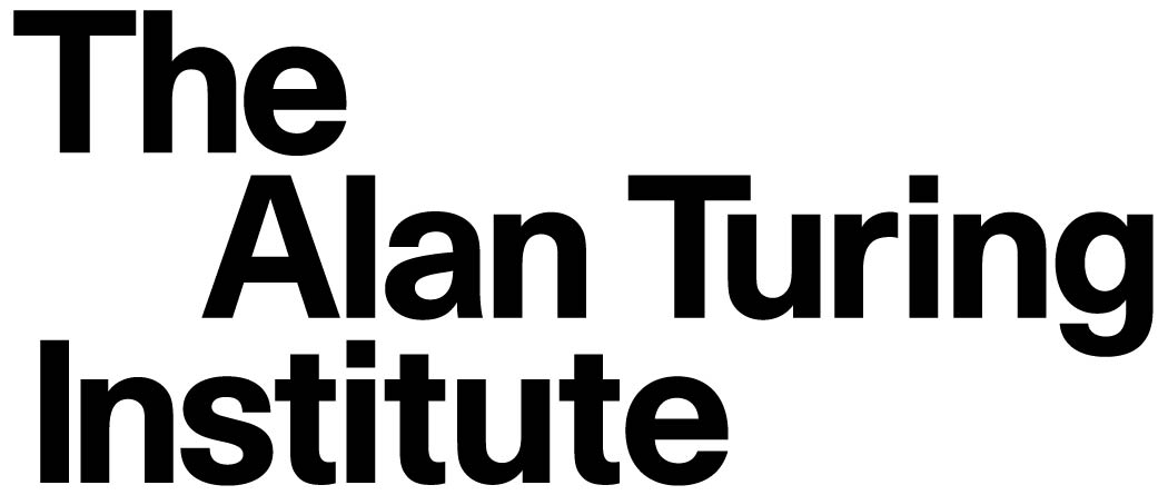 The Alan Turing Institute logo (black text on white background)