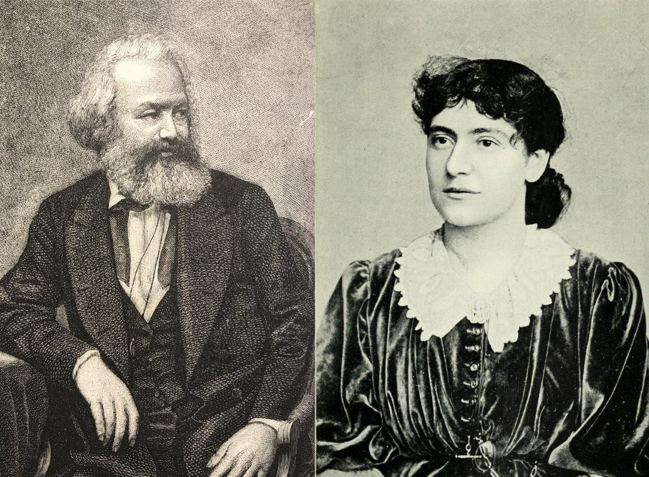 Eleanor and Karl Marx in London