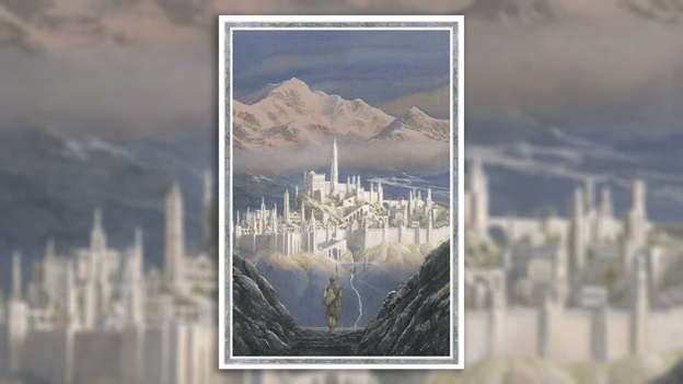 Painting of Tolkien's Gondolin