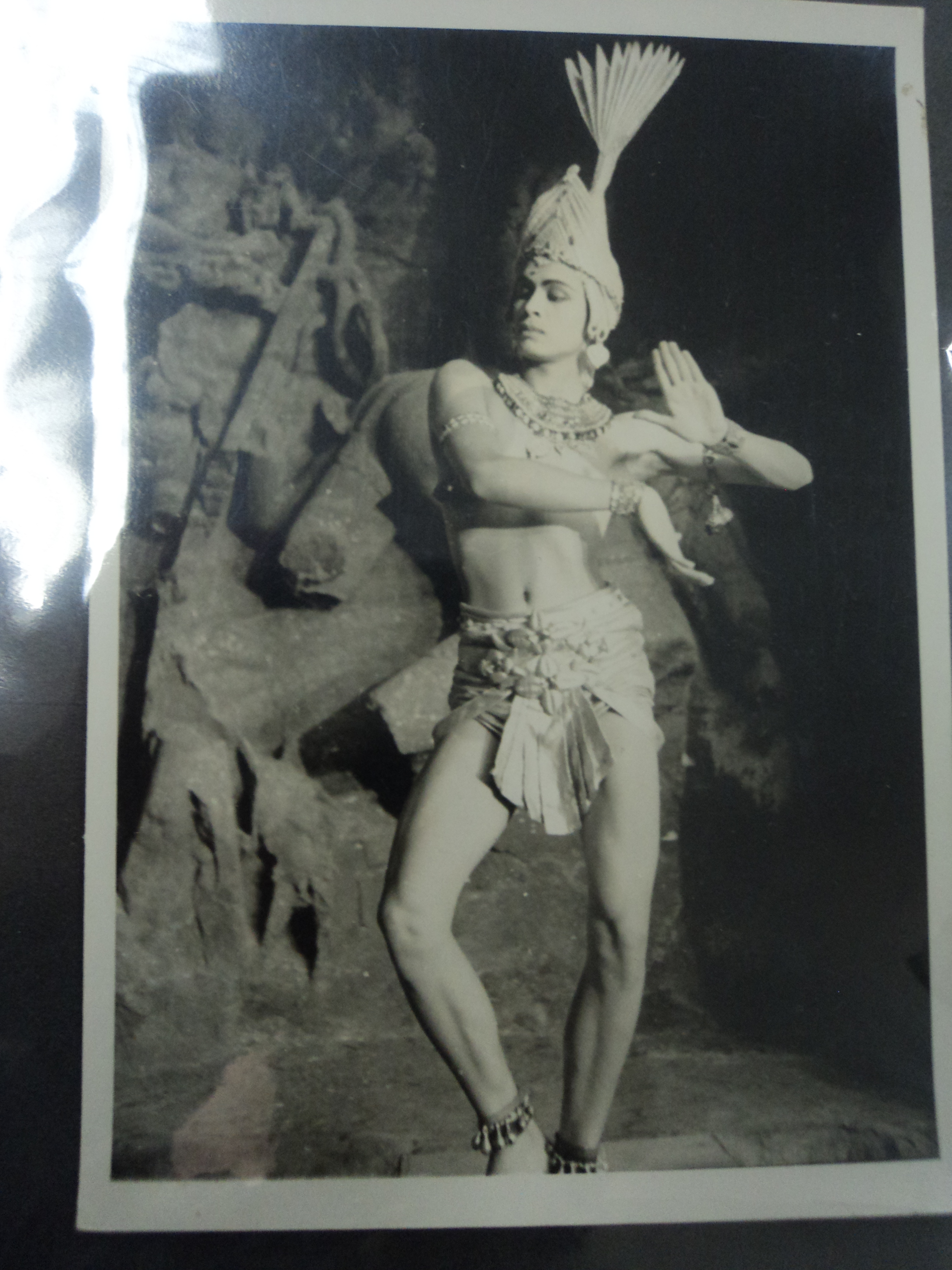 Ram Gopal, famous Indian dancer, posing as Siva. Photographer: Jepson, Stanley, British Library Photo 792(2481)