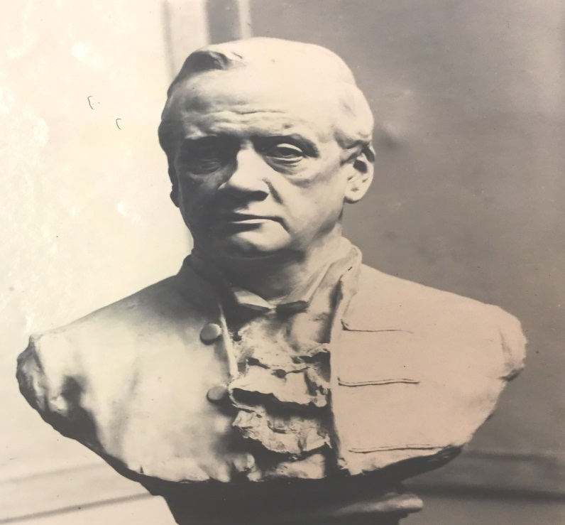 Bust of Sir John Woodroffe (1900s, British Library, Photo 273(3) )