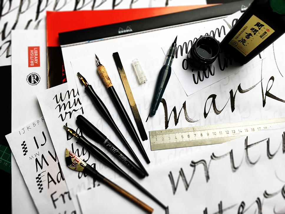 Expressive Writing and Calligraphy course