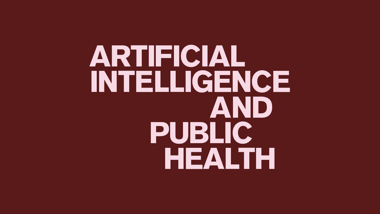 AI and public health