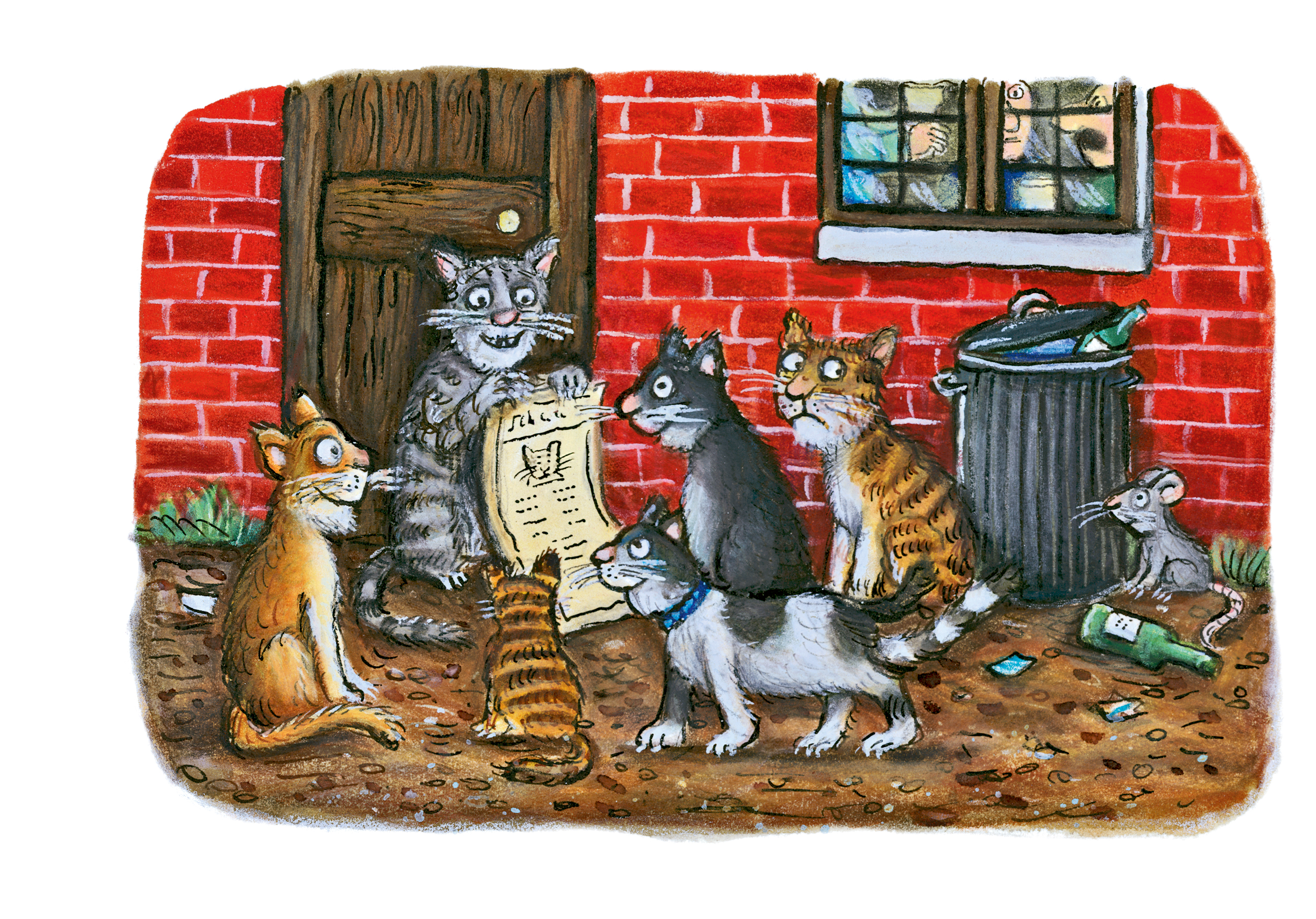 Cats Book Club