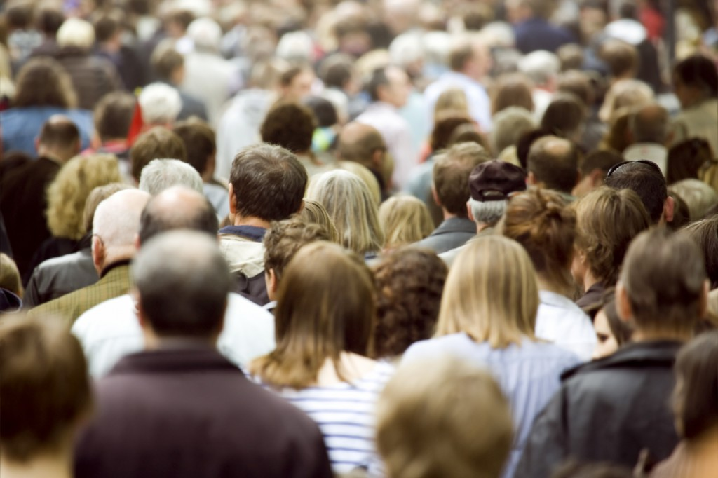 Doctoral Open Days - Crowds on the street (Social Sciences)
