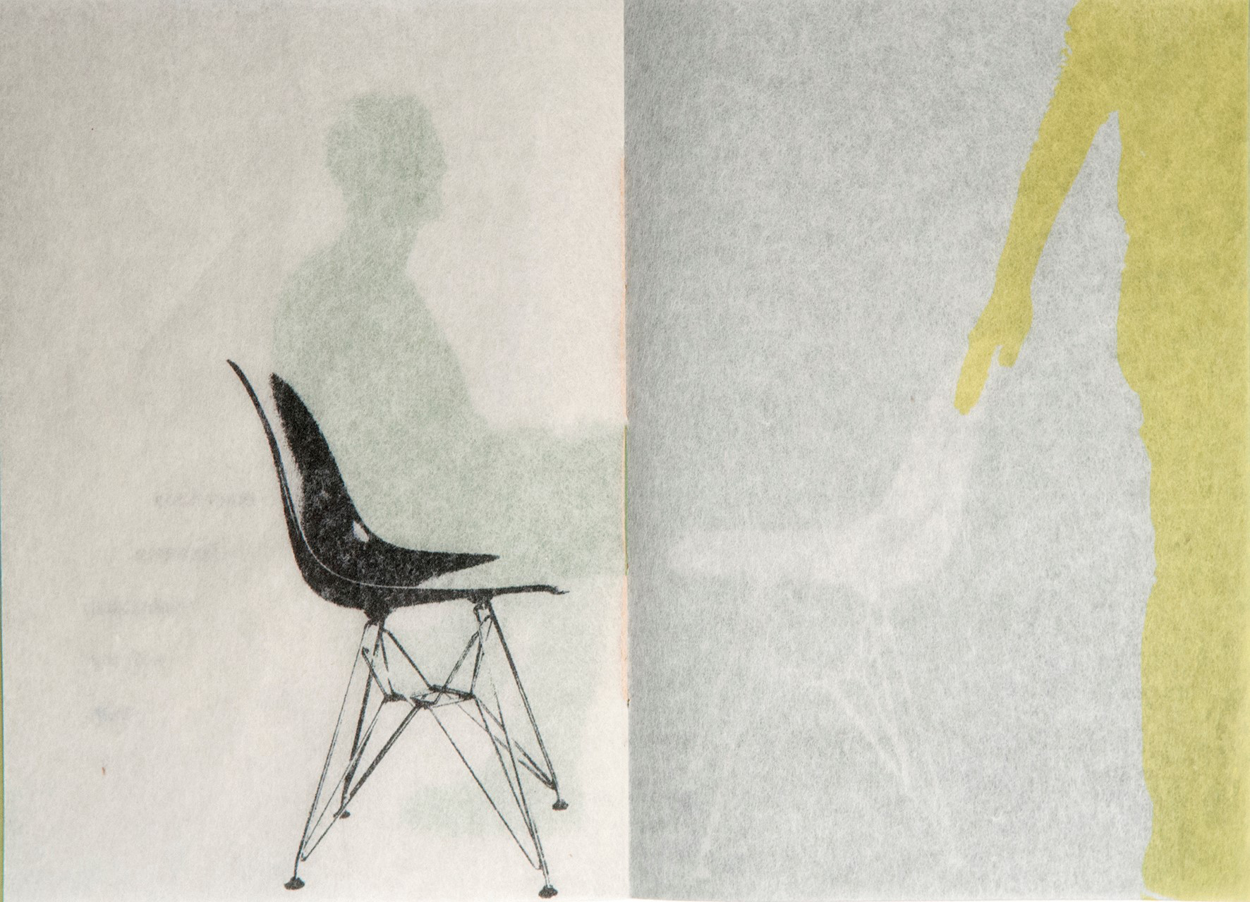 Chair illustration, by Caroline Penn.