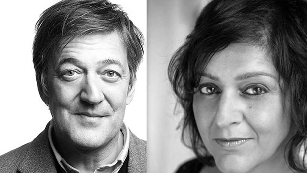Stephen Fry and Meera Syal