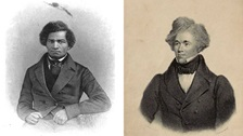 Frederick Douglass and Moses Roper