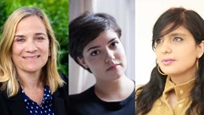Tracy Chevalier, Nikita Lalwani and Stephanie Scott