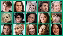 Portraits of poetry prize nominations.