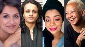 Angela Saini, Nikki Giovanni, Layla Saad, Priyamvada Gopal